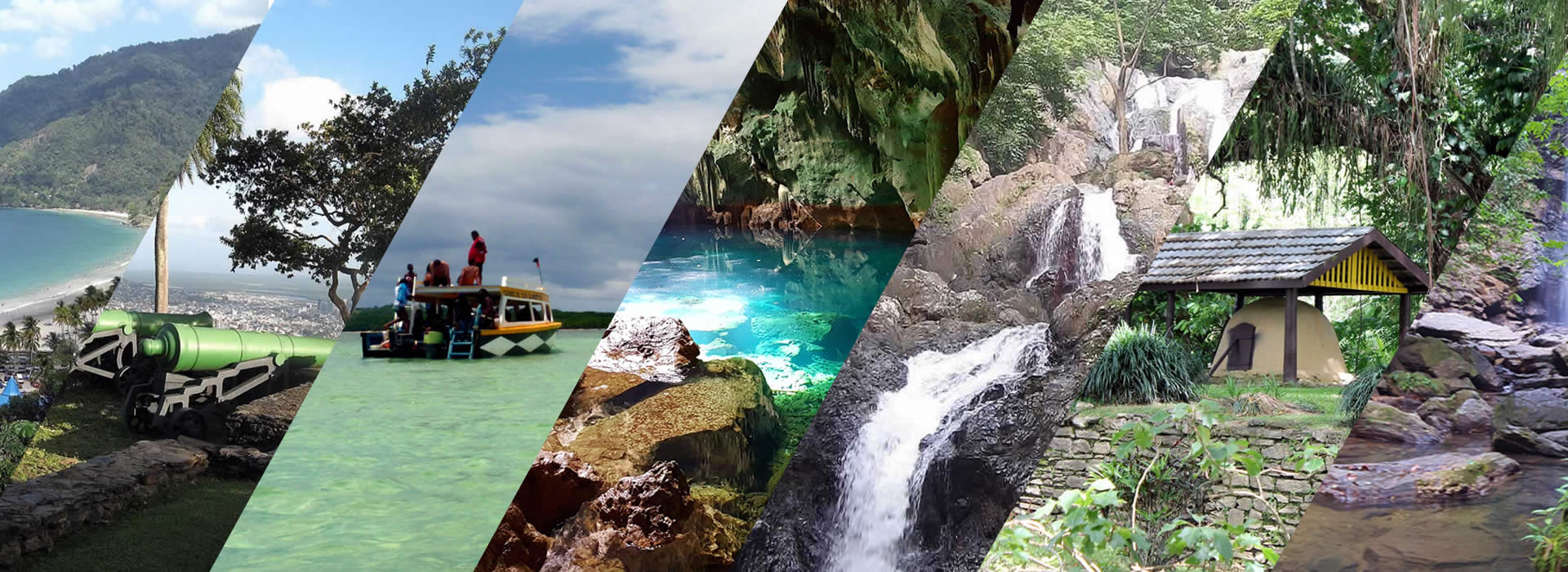 The most visited destinations in T&T in 2017