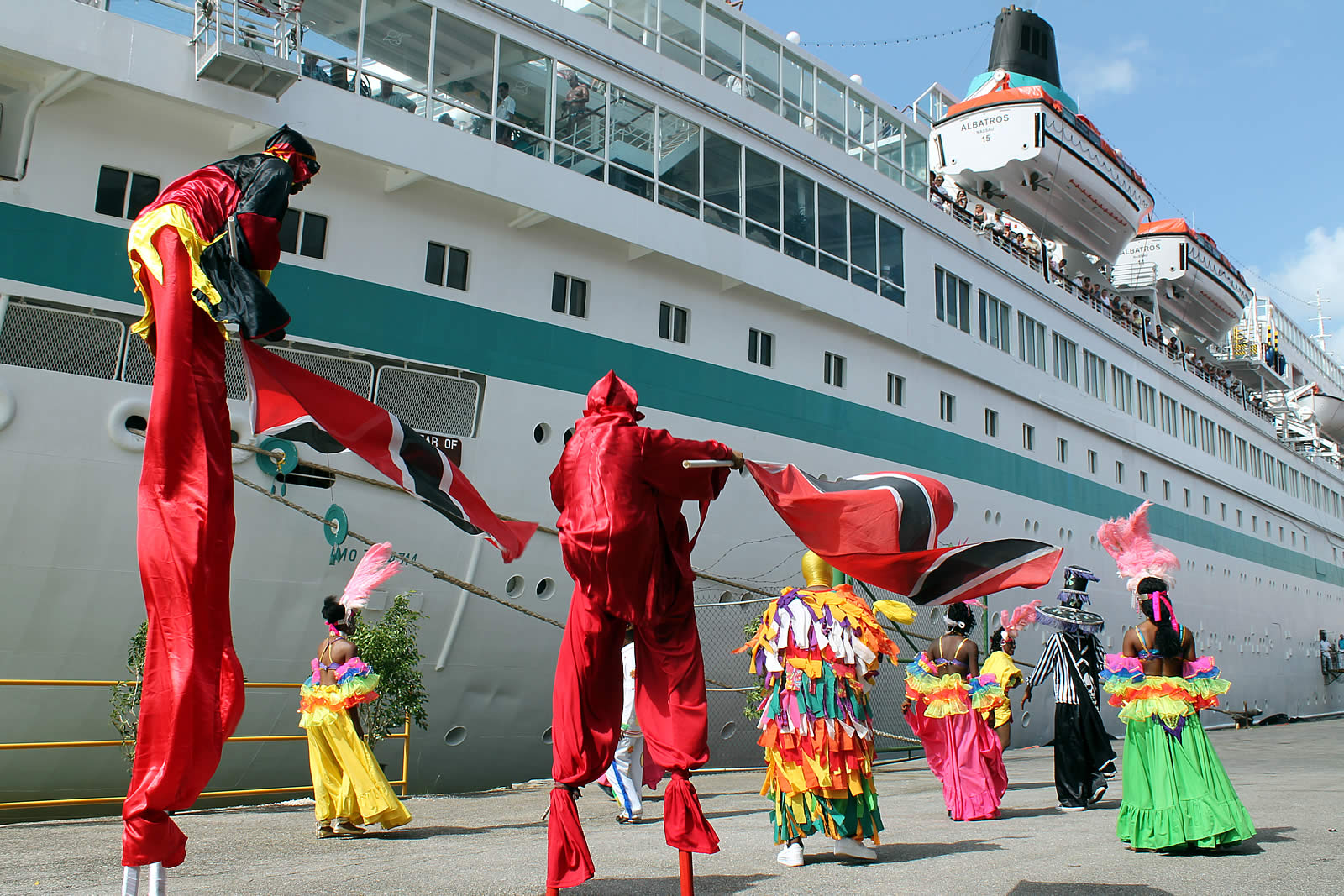 Cruising the Caribbean?  We welcome you to Port of Spain, Trinidad