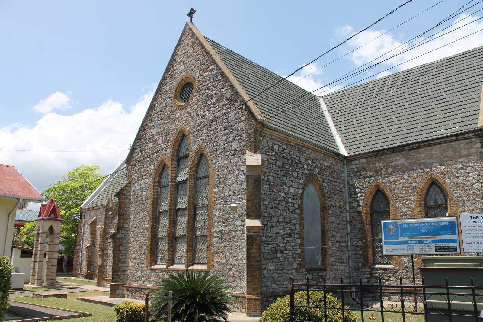 all saints' anglican church: destination trinidad and tobago | tours