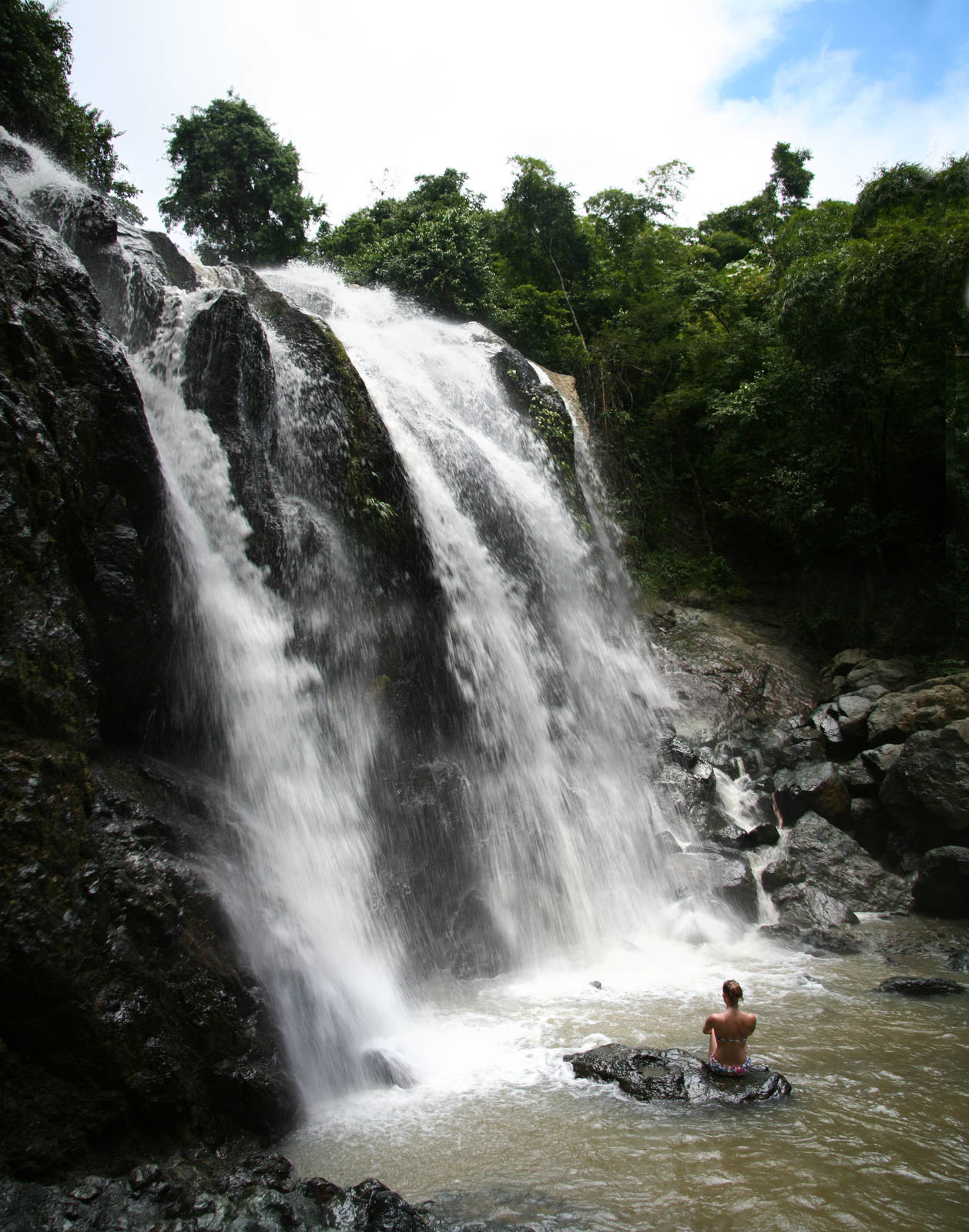 Argyle Waterfall - the tallest in Tobago