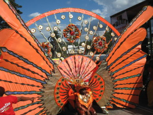 Elaborate Carnival costume at Trinidad Carnival