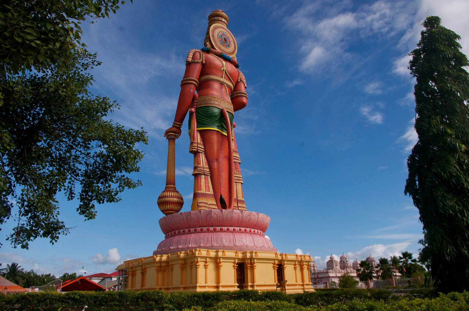 85ft Hanuman Murti Destination Trinidad And Tobago Tours Holidays Vacations And Travel Guide