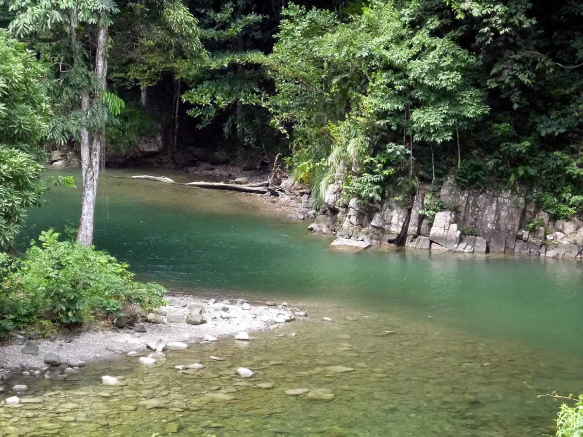 Shark River on holidays in trinidad and tobago