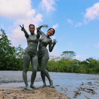 L'eau Michel Mud Volcano. Photo: Rachelle Hay @rachellehay